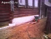Поднимем дом - заменим венцы на цоколь, фундамент, ремонт и строительство.
