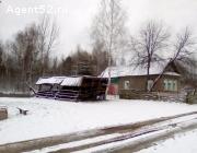 Кирпичный дом в посёлке Зимёнки, Борский район.