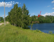 Меняю на авто или строительные материалы - два земельных участка на берегу реки Ильинка.