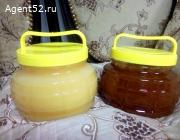 Мёд гречишный и цветочный фасованный