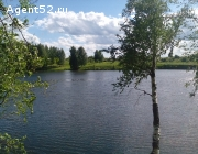 Участок на берегу реки Ильинка.